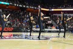 NCAA Women's Basketball AAC Tournament Semifinals - #1 UConn 81 vs. #5 USF 45 (56)