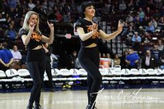 NCAA Women's Basketball AAC Tournament Semifinals - #1 UConn 81 vs. #5 USF 45 (58)