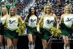 NCAA Women's Basketball AAC Tournament Semifinals - #1 UConn 81 vs. #5 USF 45 (6)