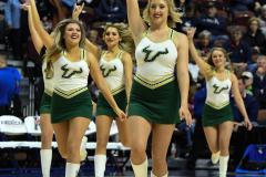 NCAA Women's Basketball AAC Tournament Semifinals - #1 UConn 81 vs. #5 USF 45 (65)