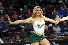 NCAA Women's Basketball AAC Tournament Semifinals - #1 UConn 81 vs. #5 USF 45 (75)