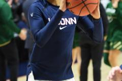 NCAA Women's Basketball AAC Tournament Semifinals - #1 UConn 81 vs. #5 USF 45 (8)