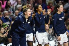 NCAA Women's Basketball AAC Tournament Semifinals - #1 UConn 81 vs. #5 USF 45 (89)