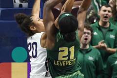 NCAA Women's Basketball AAC Tournament Semifinals - #1 UConn 81 vs. #5 USF 45 (93)