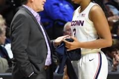 NCAA Women's Basketball AAC Tournament Semifinals - #1 UConn 81 vs. #5 USF 45 (95)