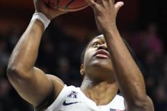 NCAA Women's Basketball AAC Tournament Semifinals - #1 UConn 81 vs. #5 USF 45 (98)