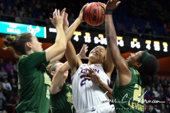 NCAA Women's Basketball AAC Tournament Semifinals - #1 UConn 81 vs. #5 USF 45 (99)