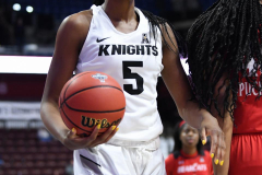 NCAA Women's Basketball AAC Tournament Semifinals - #2 UCF 66 vs. #3 Cincinnati 58 (100)