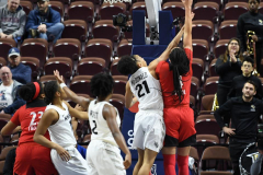 NCAA Women's Basketball AAC Tournament Semifinals - #2 UCF 66 vs. #3 Cincinnati 58 (17)
