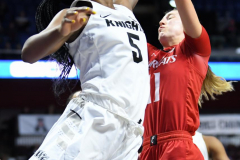 NCAA Women's Basketball AAC Tournament Semifinals - #2 UCF 66 vs. #3 Cincinnati 58 (22)