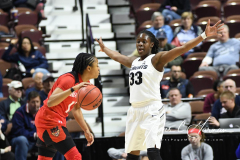 NCAA Women's Basketball AAC Tournament Semifinals - #2 UCF 66 vs. #3 Cincinnati 58 (25)