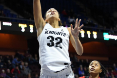 NCAA Women's Basketball AAC Tournament Semifinals - #2 UCF 66 vs. #3 Cincinnati 58 (29)