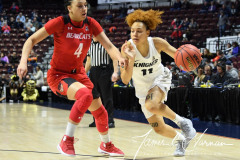 NCAA Women's Basketball AAC Tournament Semifinals - #2 UCF 66 vs. #3 Cincinnati 58 (34)