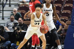 NCAA Women's Basketball AAC Tournament Semifinals - #2 UCF 66 vs. #3 Cincinnati 58 (38)