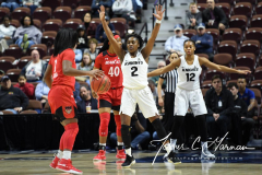 NCAA Women's Basketball AAC Tournament Semifinals - #2 UCF 66 vs. #3 Cincinnati 58 (41)