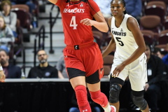 NCAA Women's Basketball AAC Tournament Semifinals - #2 UCF 66 vs. #3 Cincinnati 58 (45)