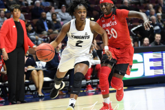 NCAA Women's Basketball AAC Tournament Semifinals - #2 UCF 66 vs. #3 Cincinnati 58 (51)