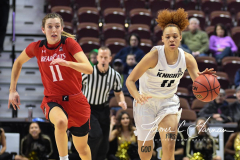 NCAA Women's Basketball AAC Tournament Semifinals - #2 UCF 66 vs. #3 Cincinnati 58 (52)