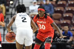 NCAA Women's Basketball AAC Tournament Semifinals - #2 UCF 66 vs. #3 Cincinnati 58 (63)