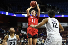 NCAA Women's Basketball AAC Tournament Semifinals - #2 UCF 66 vs. #3 Cincinnati 58 (72)