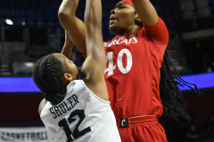 NCAA Women's Basketball AAC Tournament Semifinals - #2 UCF 66 vs. #3 Cincinnati 58 (73)