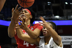 NCAA Women's Basketball AAC Tournament Semifinals - #2 UCF 66 vs. #3 Cincinnati 58 (74)