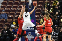NCAA Women's Basketball AAC Tournament Semifinals - #2 UCF 66 vs. #3 Cincinnati 58 (76)