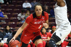 NCAA Women's Basketball AAC Tournament Semifinals - #2 UCF 66 vs. #3 Cincinnati 58 (81)