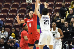 NCAA Women's Basketball AAC Tournament Semifinals - #2 UCF 66 vs. #3 Cincinnati 58 (83)