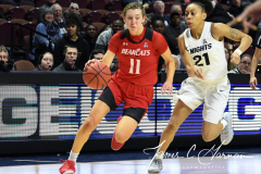NCAA Women's Basketball AAC Tournament Semifinals - #2 UCF 66 vs. #3 Cincinnati 58 (85)