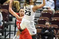NCAA Women's Basketball AAC Tournament Semifinals - #2 UCF 66 vs. #3 Cincinnati 58 (86)