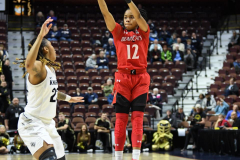 NCAA Women's Basketball AAC Tournament Semifinals - #2 UCF 66 vs. #3 Cincinnati 58 (87)
