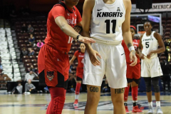 NCAA Women's Basketball AAC Tournament Semifinals - #2 UCF 66 vs. #3 Cincinnati 58 (92)