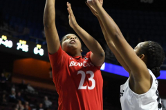 NCAA Women's Basketball AAC Tournament Semifinals - #2 UCF 66 vs. #3 Cincinnati 58 (93)
