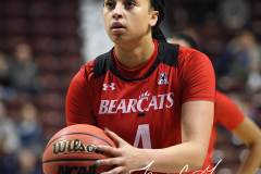 NCAA Women's Basketball AAC Tournament Semifinals - #2 UCF 66 vs. #3 Cincinnati 58 (95)