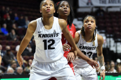 NCAA Women's Basketball AAC Tournament Semifinals - #2 UCF 66 vs. #3 Cincinnati 58 (97)