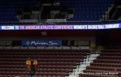 Gallery NCAA Women's Basketball; AAC Tournament SF's - #1 UConn 78 vs. #4 UCF 56 - View from the Stands (4)