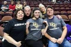 NCAA Women's Basketball - AAC Tournament SF's - #1 UConn 78 vs. #4 UCF 56 (13)