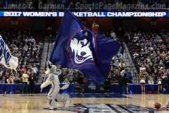 NCAA Women's Basketball - AAC Tournament SF's - #1 UConn 78 vs. #4 UCF 56 (15)