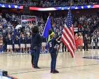 NCAA Women's Basketball - AAC Tournament SF's - #1 UConn 78 vs. #4 UCF 56 (17)
