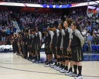 NCAA Women's Basketball - AAC Tournament SF's - #1 UConn 78 vs. #4 UCF 56 (18)