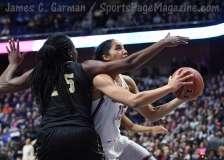 NCAA Women's Basketball - AAC Tournament SF's - #1 UConn 78 vs. #4 UCF 56 (29)