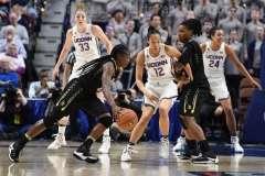 NCAA Women's Basketball - AAC Tournament SF's - #1 UConn 78 vs. #4 UCF 56 (32)