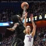 NCAA Women's Basketball - AAC Tournament SF's - #1 UConn 78 vs. #4 UCF 56 (41)