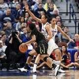 NCAA Women's Basketball - AAC Tournament SF's - #1 UConn 78 vs. #4 UCF 56 (45)