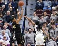 NCAA Women's Basketball - AAC Tournament SF's - #1 UConn 78 vs. #4 UCF 56 (47)