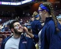 NCAA Women's Basketball - AAC Tournament SF's - #1 UConn 78 vs. #4 UCF 56 (7)