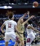 Gallery NCAA Women's Basketball; AAC Tournament SF's - #2 Temple 58 vs. #3 USF 63 (62)