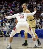 Gallery NCAA Women's Basketball; AAC Tournament SF's - #2 Temple 58 vs. #3 USF 63 (70)