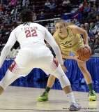 Gallery NCAA Women's Basketball; AAC Tournament SF's - #2 Temple 58 vs. #3 USF 63 (82)